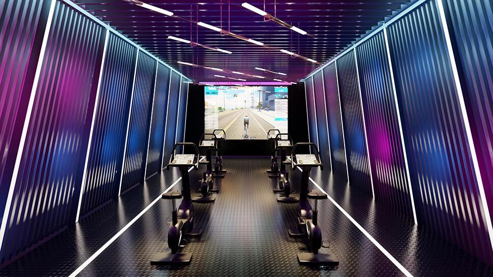 ห้องออกกำลังกาย Impression เอกมัย-สุขุมวิท 61 คอนโด เอกมัย