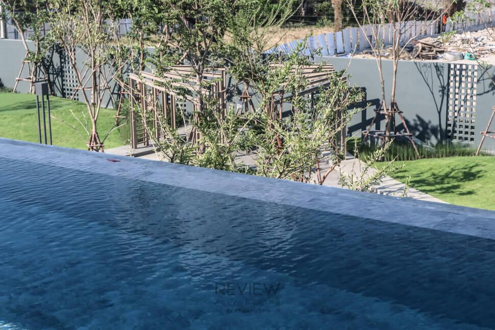 สวนส่วนกลาง บ้าน Private Nirvana THROUGH Ekamai-Raminthra