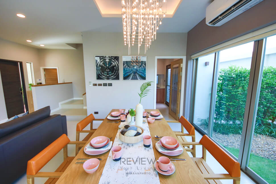 Living room โครงการ Private Nirvana THROUGH Ekamai-Raminthra