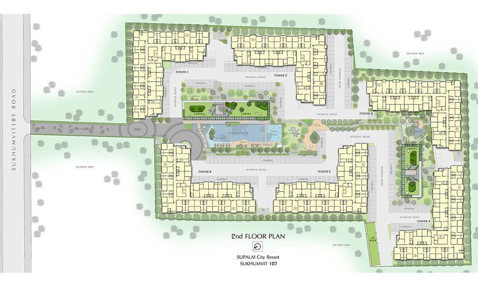 Review Supalai City Resort Sukhumvit 107 ศุภาลัย ซิตี้ รีสอร์ท สุขุมวิท 107 7