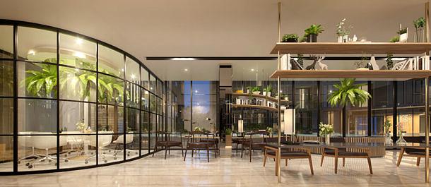 TAKKA Sriwara คอนโด ทาวน์อินทาวน์ ออกแบบไสตล์ญี่ปุ่น