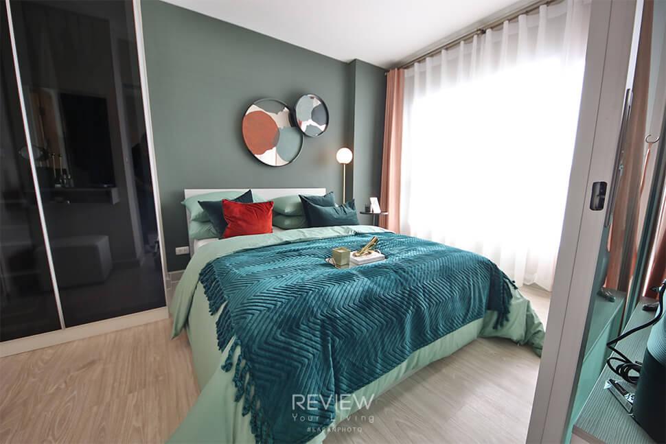 ห้องนอน Type A โครงการ Aspire Ngamwongwan