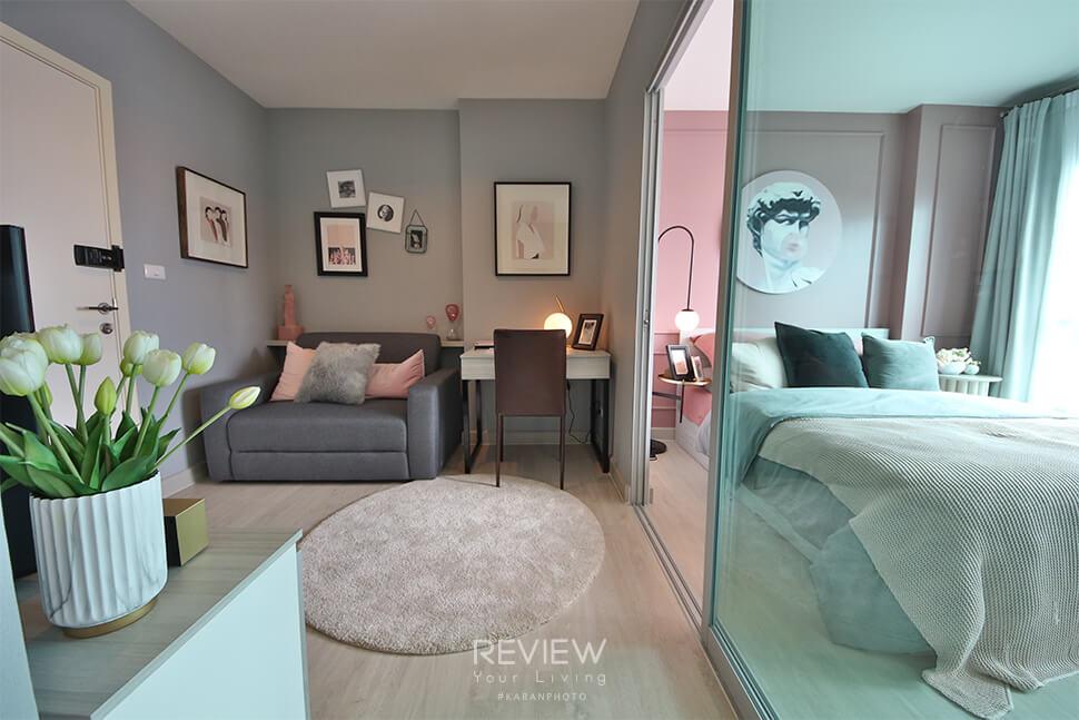 ห้อง 1 Bedroom คอนโด Aspire Ngamwongwan