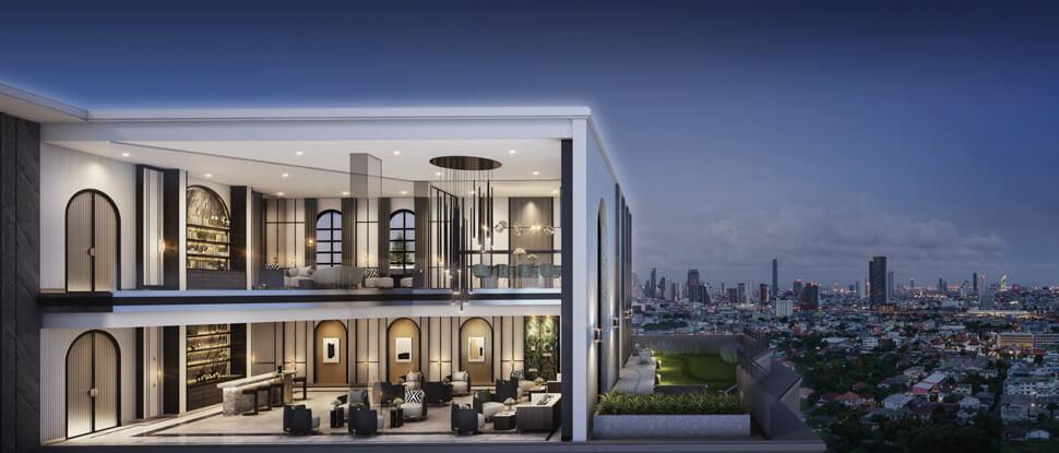 โครงการ Supalai Lite Thaphra Wongwian Yai มีสถาปัตยกรรมแบบ COLONIAL