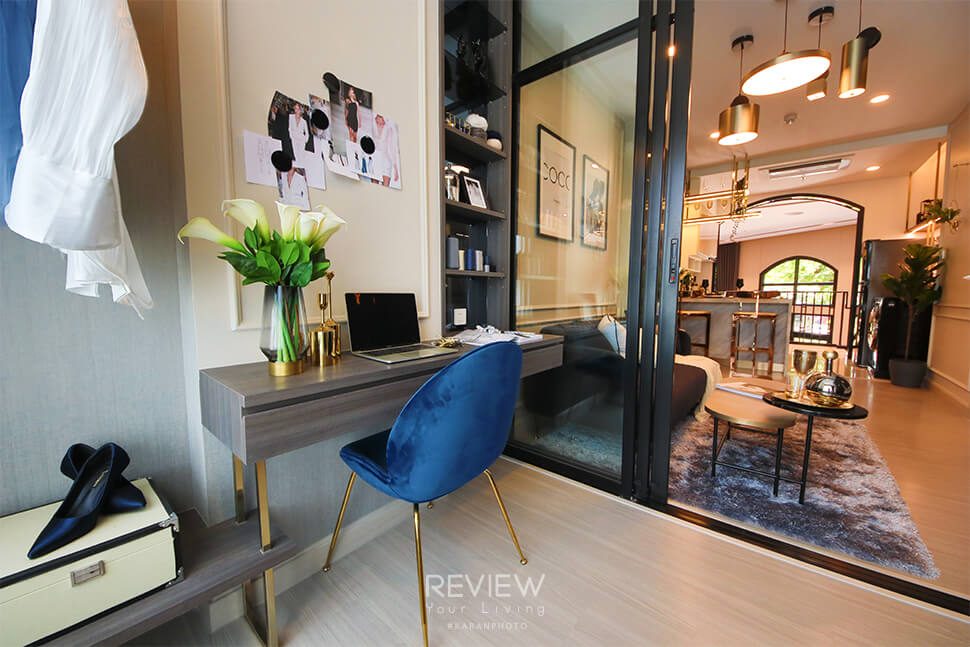 ห้องแบบ plus โครงการ Supalai Lite Thaphra Wongwianyai