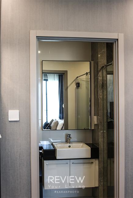 ห้องน้ำในตัว ห้อง 1 Bedroom Plus คอนโด Supalai Lite Thaphra Wongwianyai