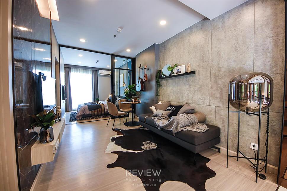 ห้อง 1 Bedroom โครงการ Supalai Lite Thaphra Wongwianyai