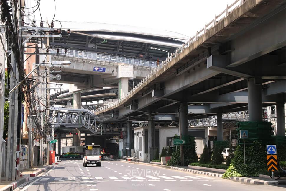 MRT สถานีท่าพระ ใกล้คอนโด Supalai Lite Thaphra Wongwianyai