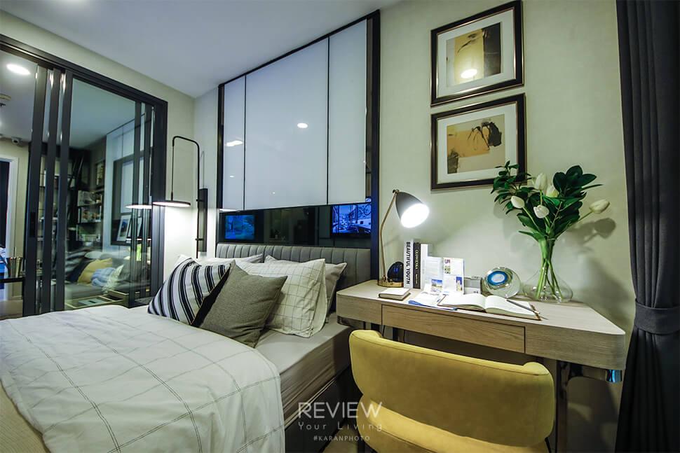 ห้องนอน 1 Bedroom 27.5 ตร.ม.คอนโด Denim Jatujak