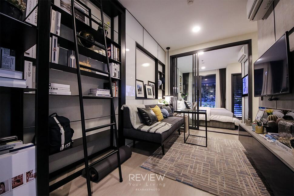 ภาพ Livingroom ห้อง 1 Bedroom 27.5 ตร.ม.คอนโด Denim Jatujak