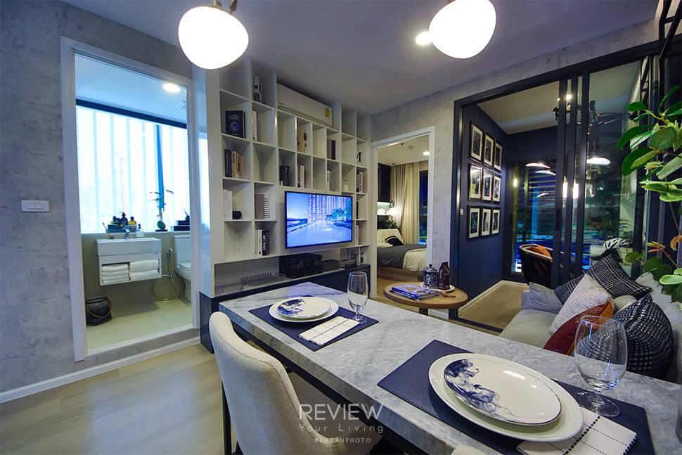 ห้อง1 Bedroom Plus 33 ตร.ม.คอนโด Denim Jatujak