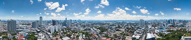 วิวมุมสูง IDEO Sukhumvit-Rama 4