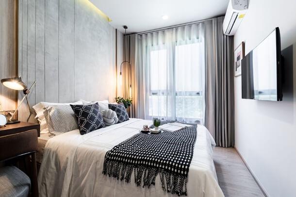 ห้องขนาด 1 Bedroom โครงการ เมทริส พัฒนาการ–เอกมัย