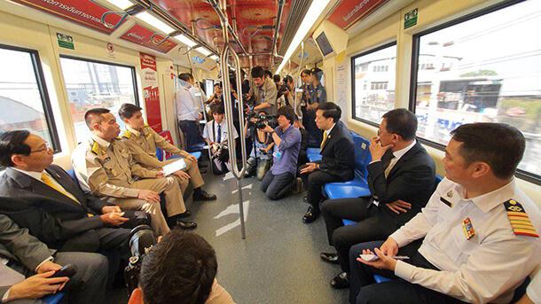 เมื่อรถไฟฟ้าสายสีน้ำเงินเปิดให้บริการอย่างเต็มโครงข่ายแล้ว จะมีระยะทางรวมทั้งสิ้น 48 กิโลเมตร จำนวน 38 สถานี