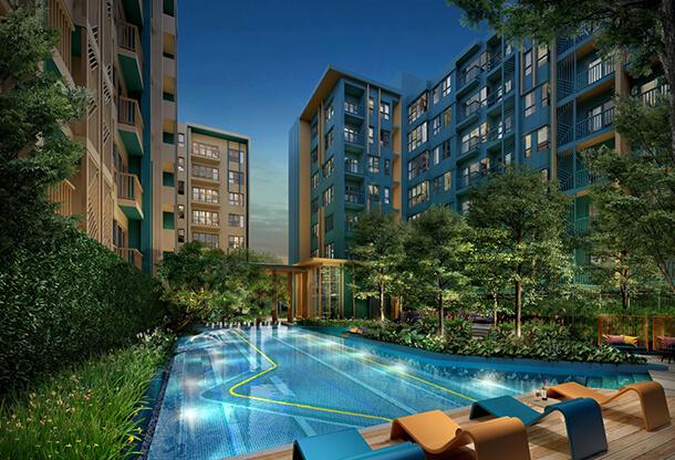 Sansiri The Base Garden Rama 9 1