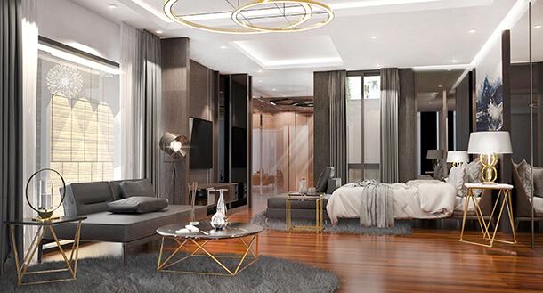 Mater Bedroom รีวิวบ้านเดี่ยว ย่านลาดพร้าว เดอะรูท จตุจักร–รัชดา
