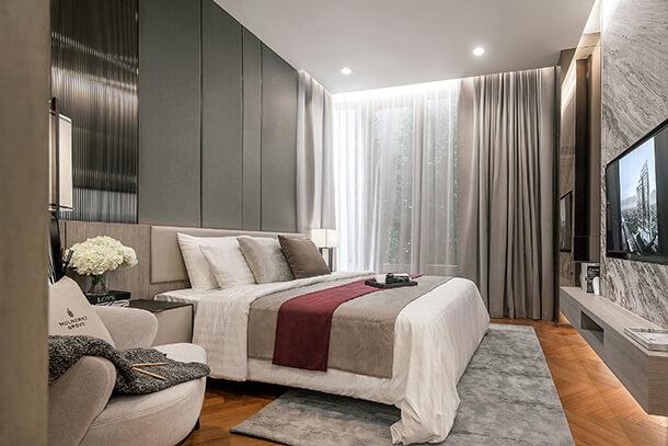 ภาพห้องตัวอย่าง Mulberry Grove Sukhumvit