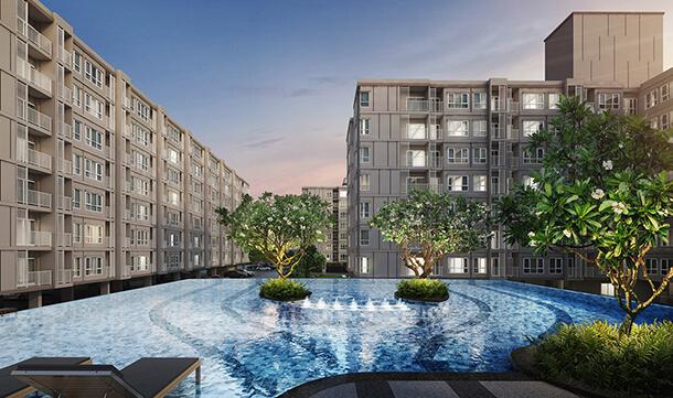 ส่วนกลาง คอนโด จรัญ Supalai City Resort Charan 91