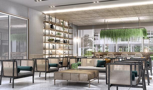 ล็อบบี้ โครงการ Supalai City Resort Charan 91 คอนโด จรัญ