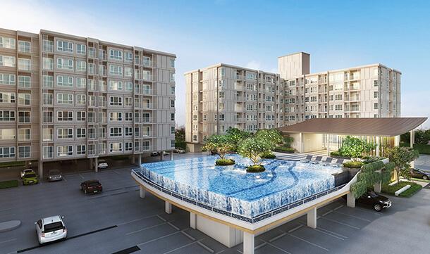 อาคารสโมสร 2 ชั้น คอนโด จรัญ Supalai City Resort Charan 91
