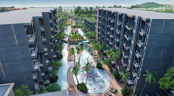 โรงแรม และ คอนโด หัวหิน Carapace Huahin-Khaotao