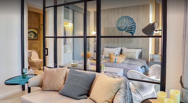 ห้อง 1 Bedroom คอนโด หัวหิน Carapace Huahin-Khaotao