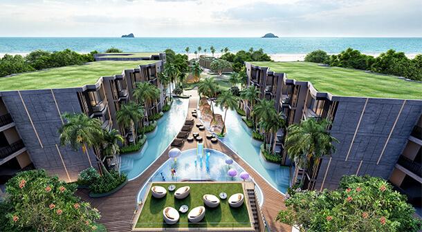 Carapace Huahin-Khaotao คอนโดหัวหิน ติดทะเล