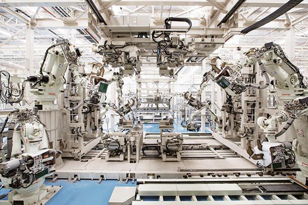 เอสซีจี ไฮม์ ควบคุมการผลิตด้วยหุ่นยนต์