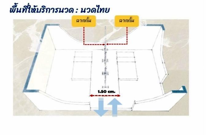 Massage Shop Design New Normal Thai Massge