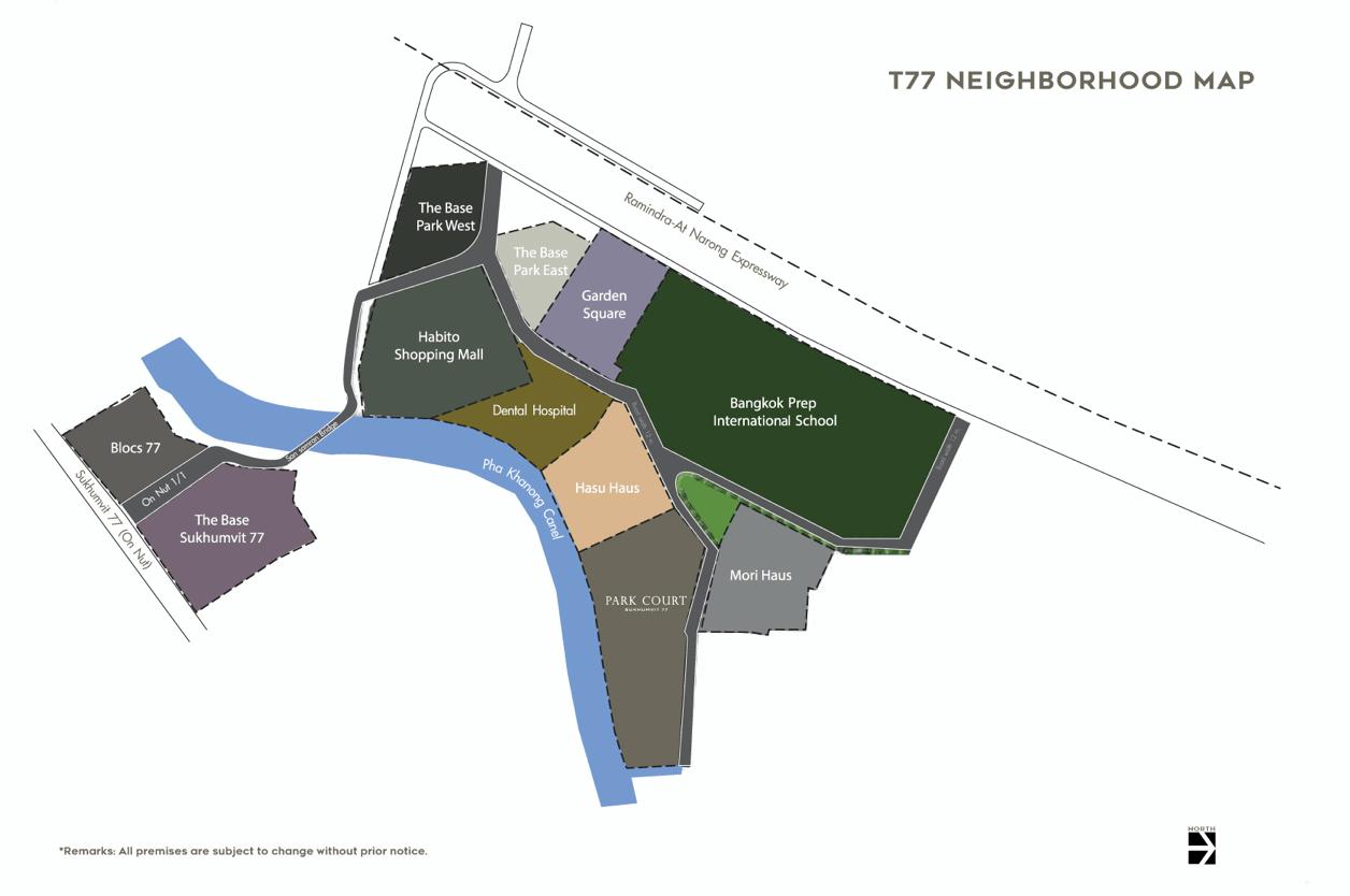 PARK COURT สุขุมวิท 77 คอนโดหรูใจกลางเมือง ในสังคมคุณภาพT77