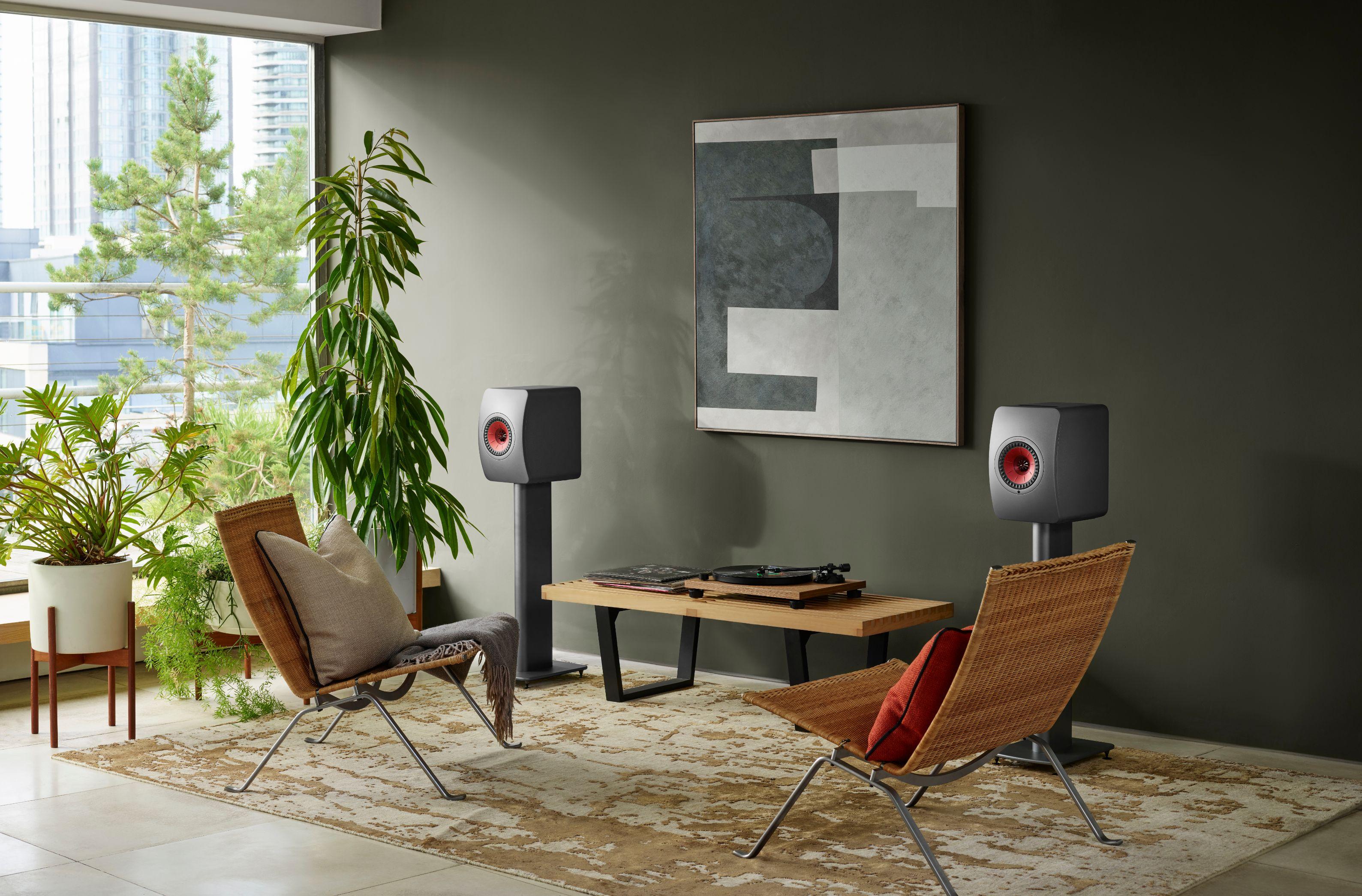 Kef Lifestyle Ls50wirelessii Titaniumgrey Livingroom Casualseating R1