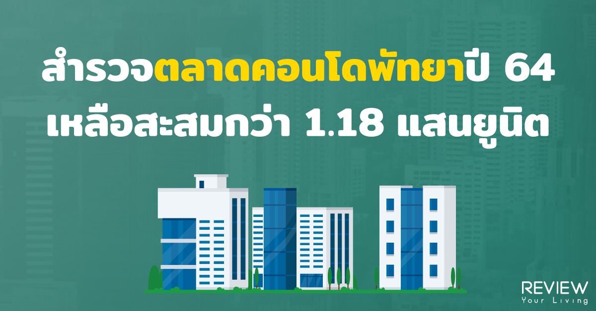 Condo Pattaya 1h2021